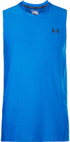 Under Armour Supervent Mesh-Trimmed Jersey Tank Top