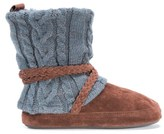 Muk Luks Women's Judie Boot Slipper