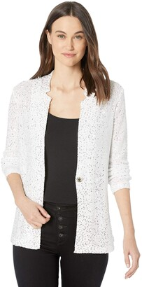 Nic+Zoe Women's Sequin Moment Blazer