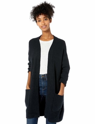 Goodthreads Amazon Brand Women's Boucle Half Stitch Cardigan Sweater
