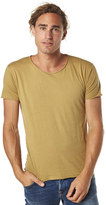 Silent Theory Basic Raw Edge Unisex Tee Green