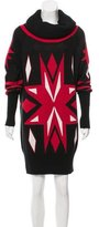 ALICE by Temperley Intarsia Knit Sweater Dress
