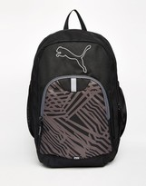 Puma Fundamentals Echo Backpack In Black 7378801