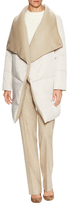 Lafayette 148 New York Clarence Wool Underlayer Coat