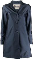 Thumbnail for your product : Herno Satin Single-Breasted Coat