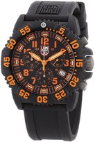 Luminox Men's Colormark Chronograph 3089 Rubber Swiss Quartz Watch