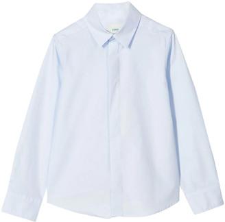 Fendi Light Blue Shirt Teen