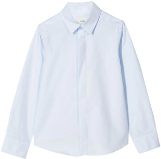 Fendi Light Blue Shirt