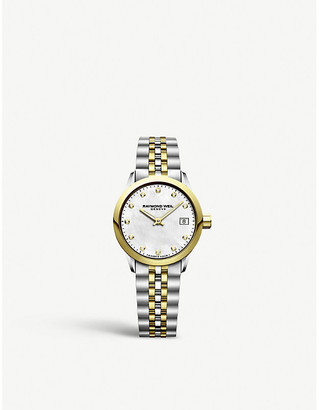 Raymond Weil 5626ST97081 Freelancer two-tone stainless steel and diamond watch