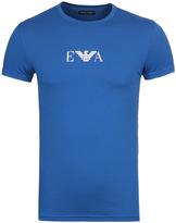 Emporio Armani Sapphire Blue Short Sleeve Underwear T-shirt