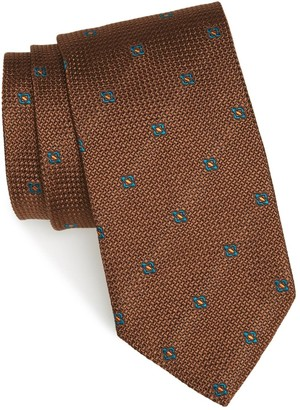 Strong Suit Medallion Silk Tie