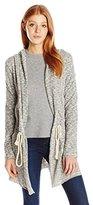 Billabong Women's Way Side Hooded Fleece Cardigan Sweater
