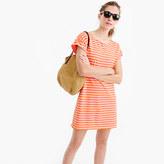 J.Crew Short-sleeve striped cotton dress