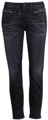 R 13 Faded Biker Boy Jeans