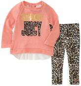 Juicy Couture Graphic Tunic and Printed Leggings Set