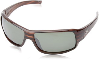 Anarchy Men's Buster Polarized Rectangular Sunglasses