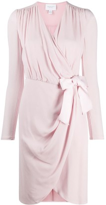 Giambattista Valli Draped Dress With Bow Detail