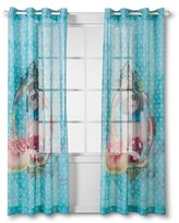 "Nobrand No Brand Glamour Girls Printed Sheer - Blue (54""x84"")"
