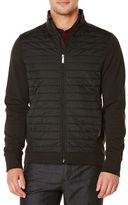 Perry Ellis Full-Zip Ponte Knit Jacket