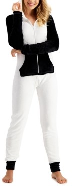 Jenni Fleece One Piece Unionsuit, Created for Macy's