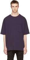 Helmut Lang Navy Unisleeve T-shirt