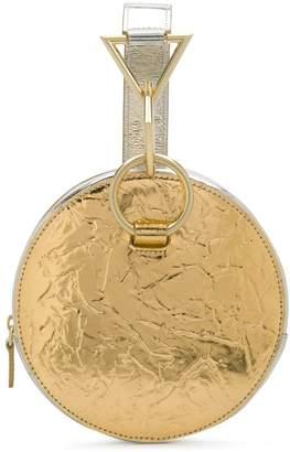 Tara Zadeh metallic mini bag