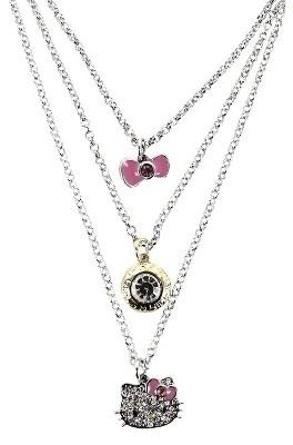 Hello Kitty Multi-Strand Necklace - Silver/Gold