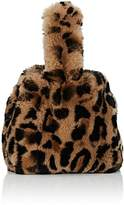 Barneys New York Women's Rabbit Fur Wristlet Bucket Bag