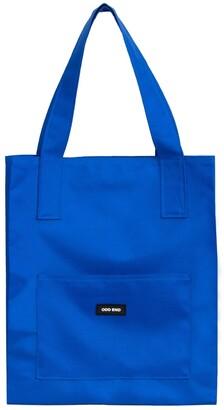 ODD END Studio - Tall Upcycled Tote Bag - Men's - Royal Blue