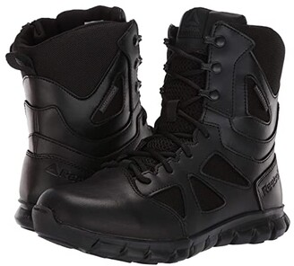 Reebok Work 8 Sublite Cushion Tactical (Black) Women's Boots