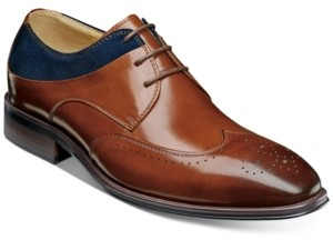 Stacy Adams Men's Hewlett Wingtip-Toe Oxfords Men's Shoes