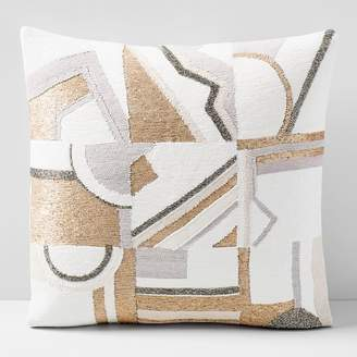 west elm Embellished Deco Mix Pillow Cover