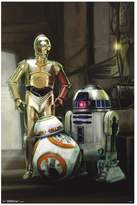 Art.com Star Wars: Episode VII The Force Awakens Droids Poster by