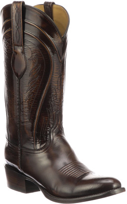 Lucchese Men's Gavin Leather Cowboy Boots (Made to Order)