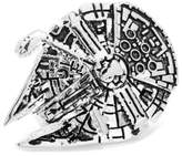 "Cufflinks Inc. Men's star Wars"" 3D Millennium Falcon Lapel Pin"