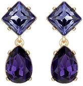 Kenneth Jay Lane WOMEN'S DOUBLE-DROP EARRINGS