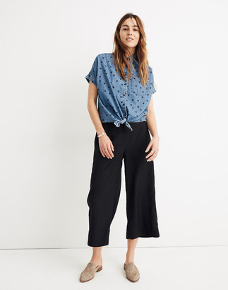 Madewell Huston Pull-On Crop Pants