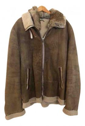 Ventcouvert Beige Shearling Jackets