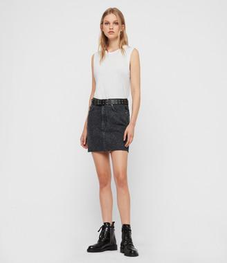 AllSaints Lila Leo Denim Skirt