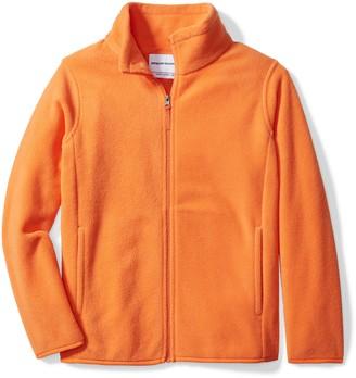 Amazon Essentials Big Boy's Full-Zip Polar Fleece Jacket Outerwear