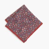 J.Crew Linen pocket square in floral print