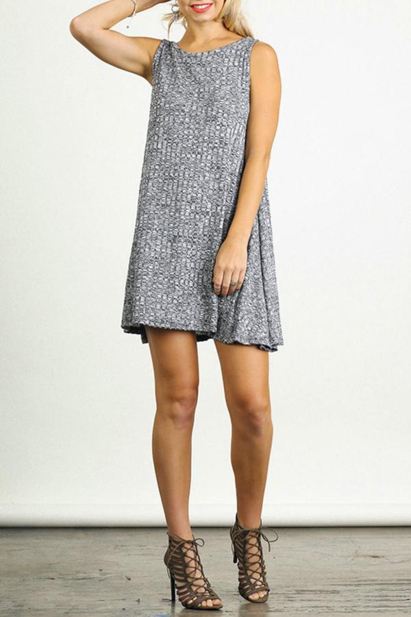 Umgee USA Sleeveless A-Line Dress