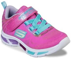 Skechers S Lights Litebeams Gleam N Dream Light-Up Sneaker - Kids'