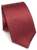 Kiton Micro Dot Printed Tie