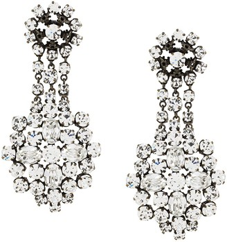 Christopher Kane Crystal Earrings