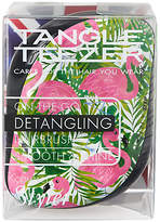 Tangle Teezer Skinny Dip Palm Print Compact Styler Hair Brush, Multi
