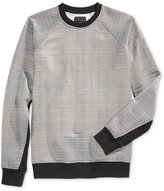 GUESS Men's Reeves Jacquard Sweatshirt