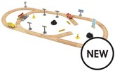 Cars KIDKRAFT Disney•Pixar 3 Build Your Own 55 Piece Wooden Racetrack