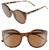 BP Women's Flat Cat Eye Sunglasses - Tort