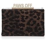 Kate Spade Cats Meow Ravi Calf Hair Clutch